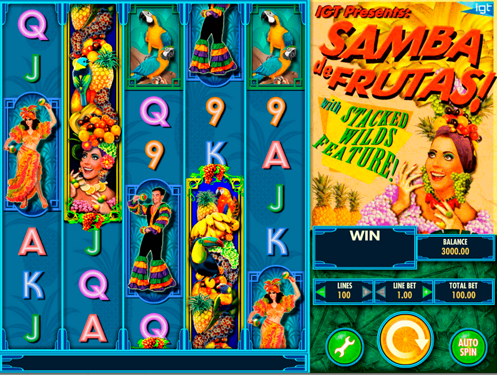 Samba De Frutas Slot Review