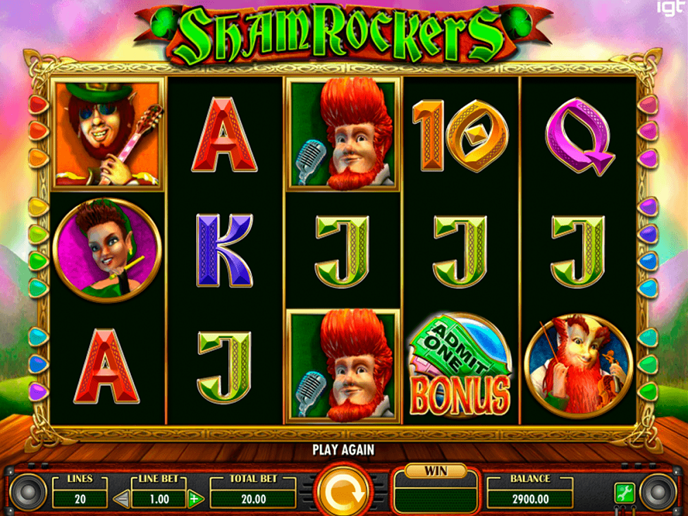 Shamrockers Eire To Rock Slot Review