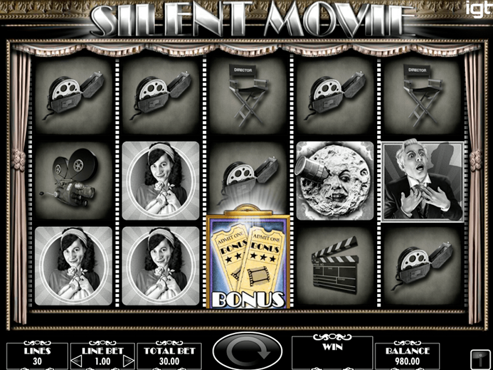 Silent Movie Slot Review
