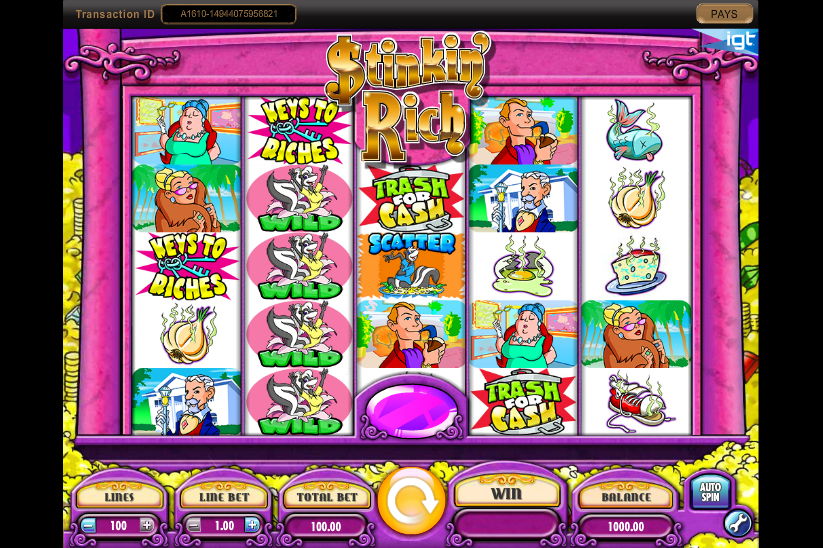 Stinkin Rich Slot Review