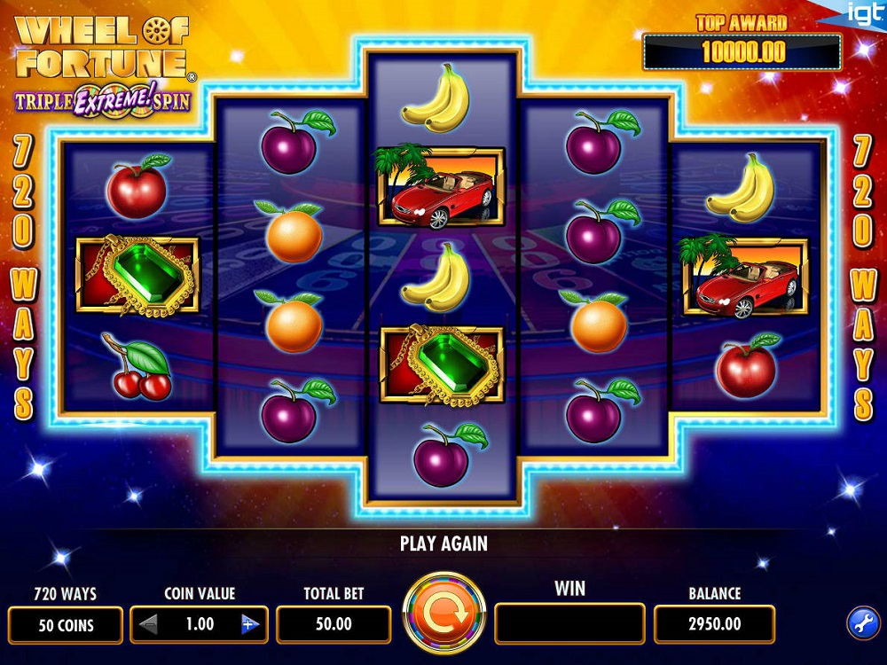 Wheel Of Fortune Triple Extreme Spin Slot Review
