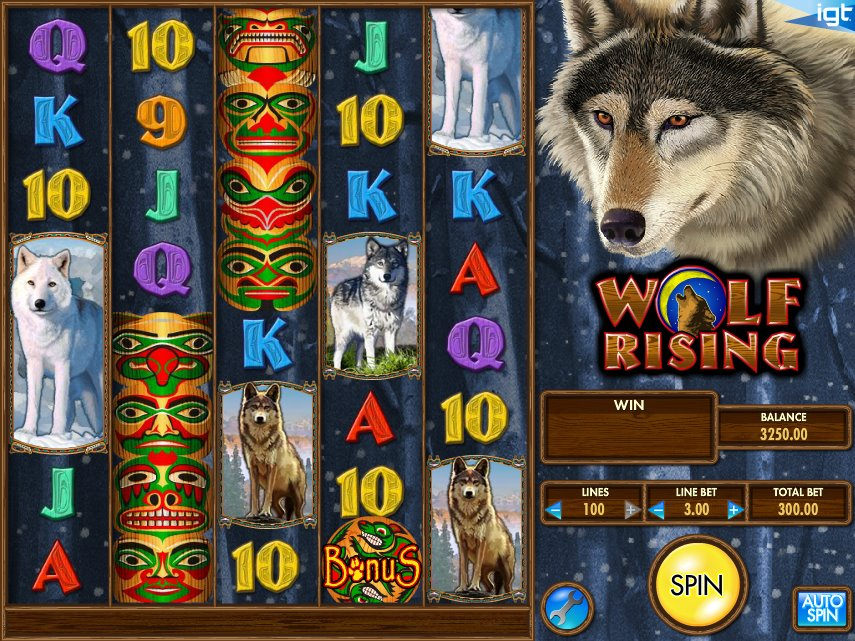 Wolf Rising Slot Review
