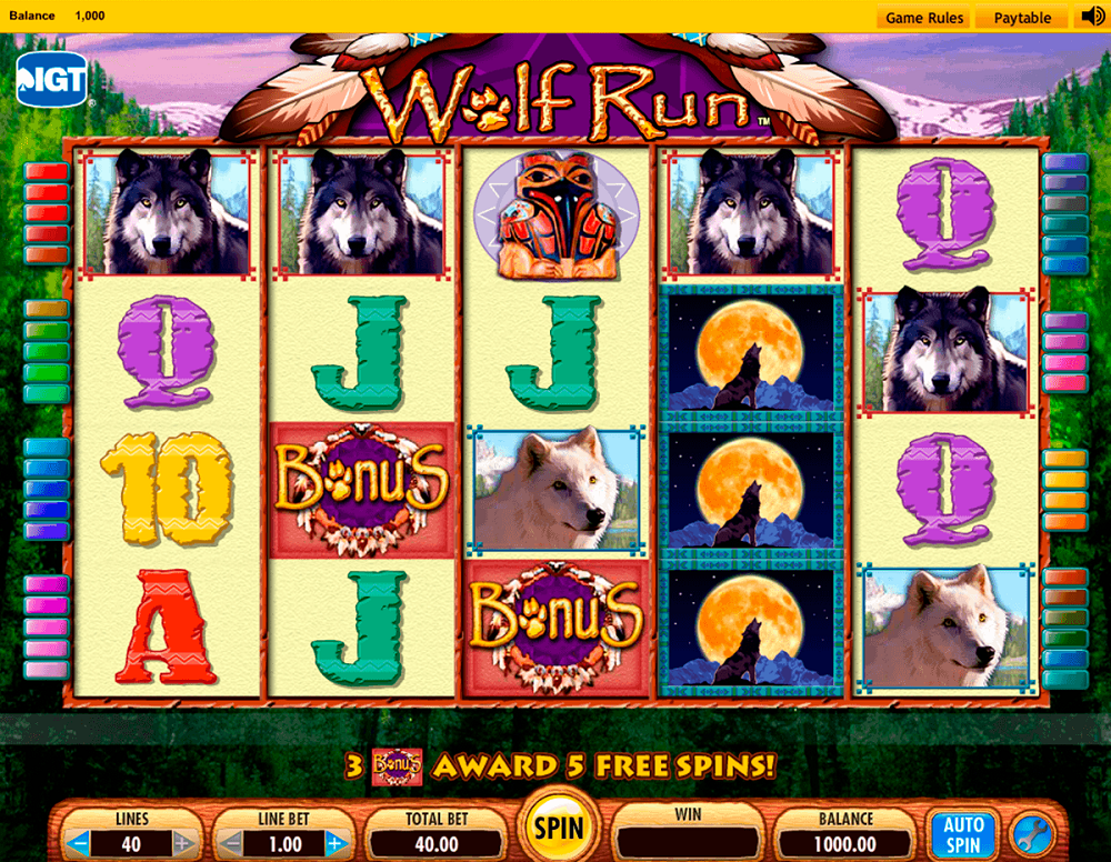 Wolf Run Slot Review
