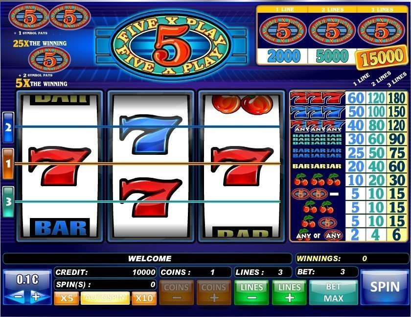 5x Play Slot Review