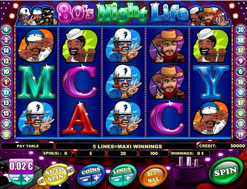 80s Night Life Slot Review