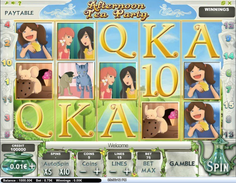 Afternoon Tea Party Slot Review