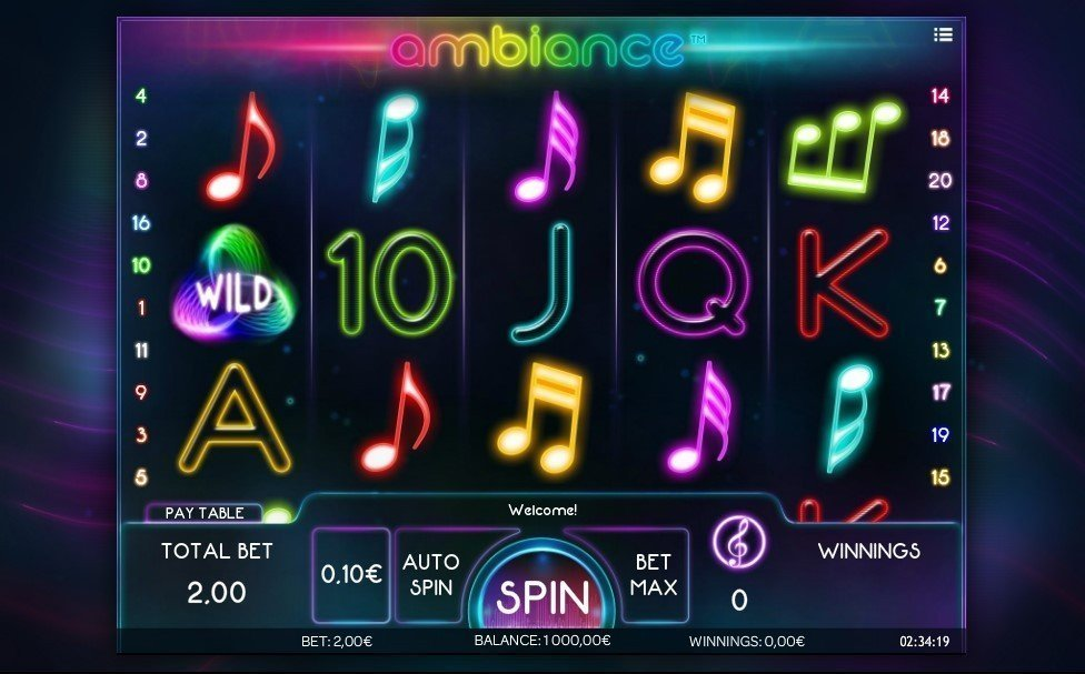Ambiance Slot Review