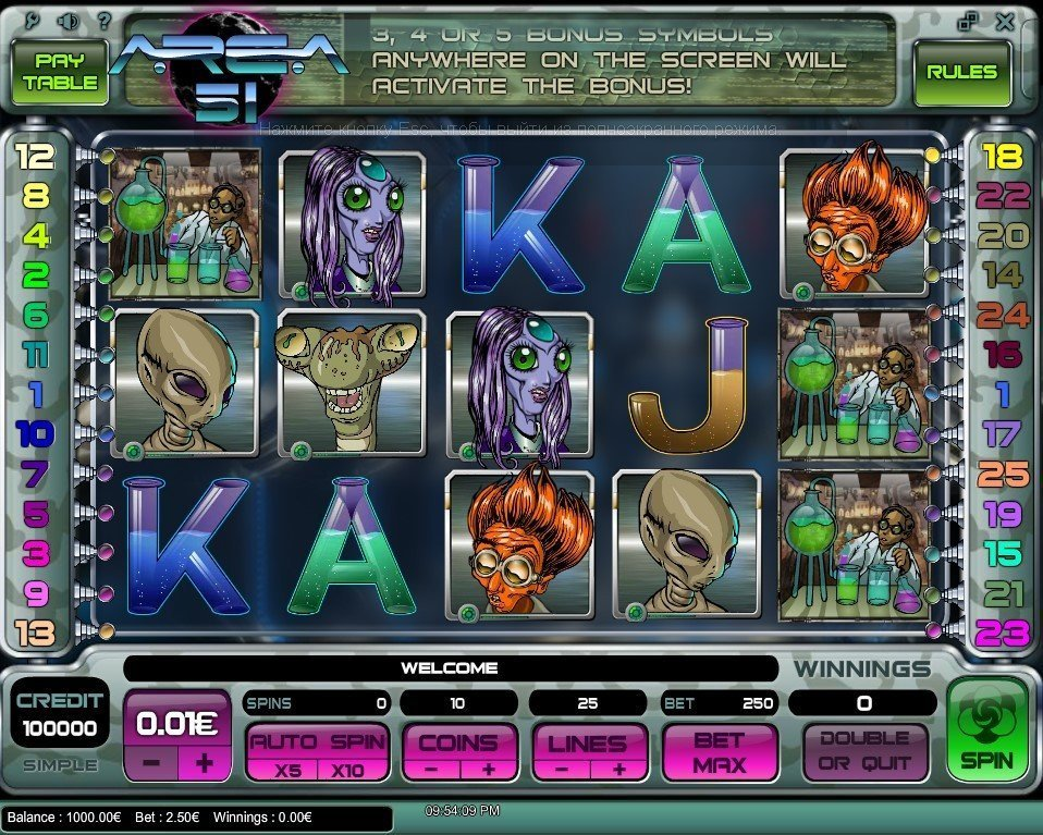 Area 51 Slot Review