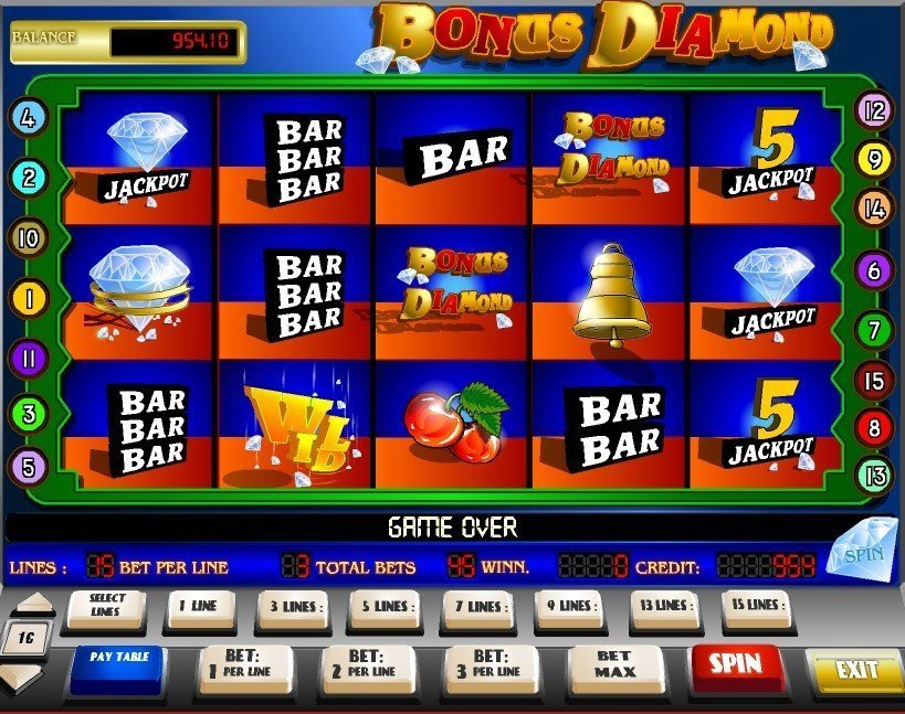 Bonus Diamond Slot Review