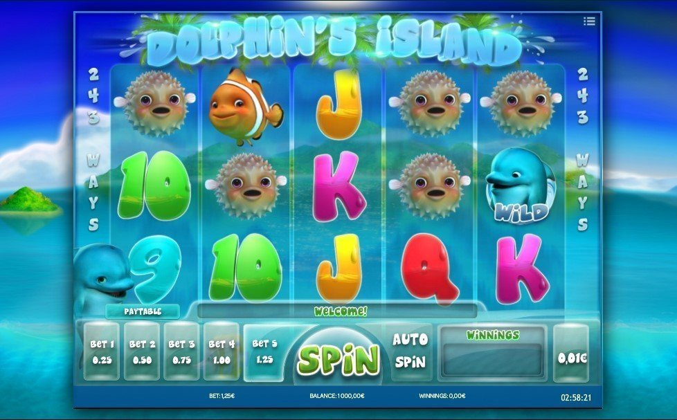 Dolphins Island Slot Review