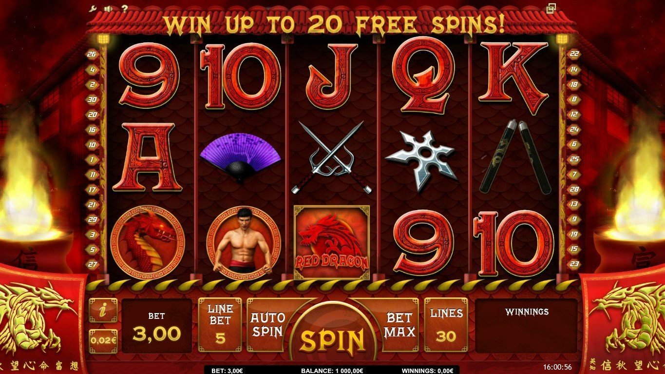 Red Dragon Wild Slot Review