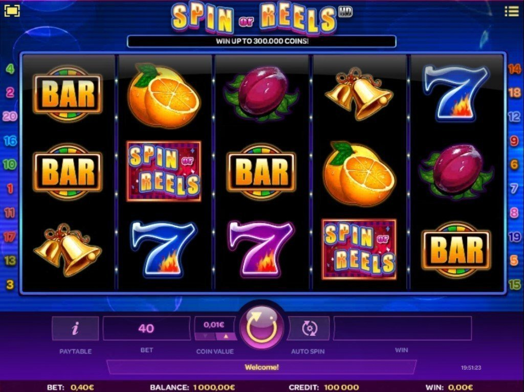 Spin Or Reels Slot Review