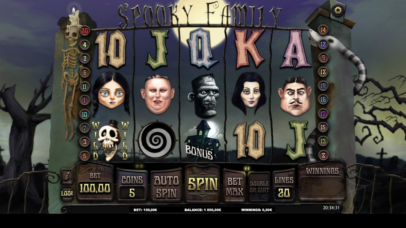 Spooky Family Slot Review