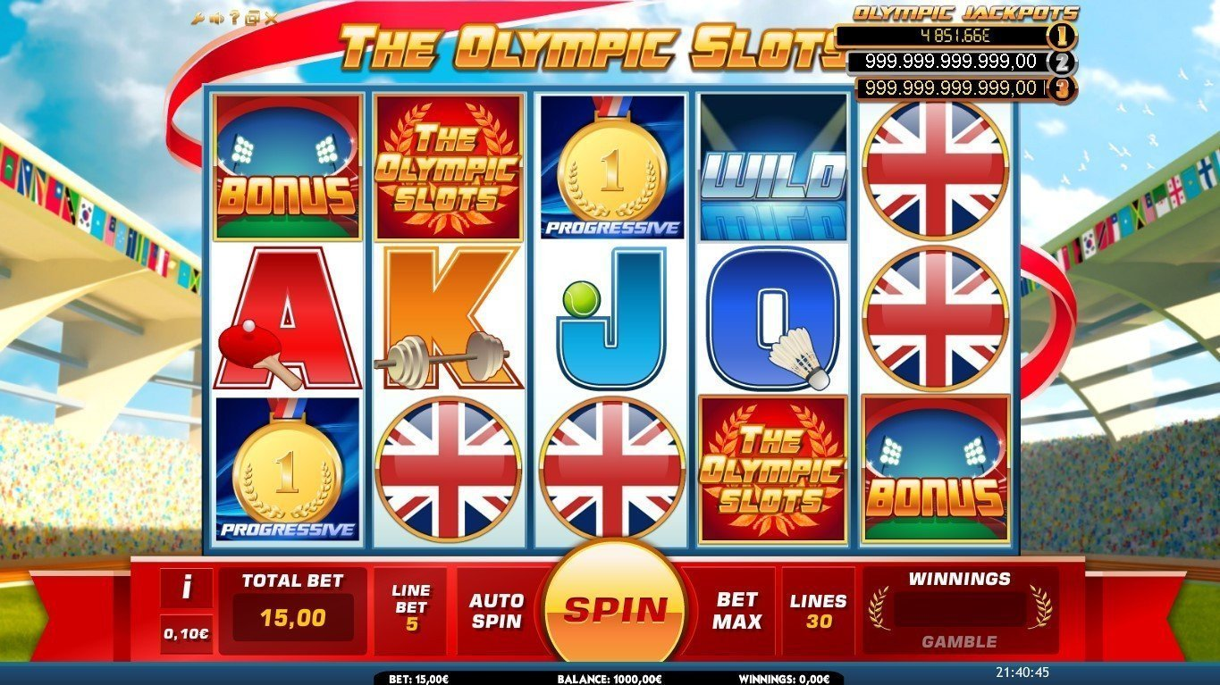 The Olympic Slots Slot Review