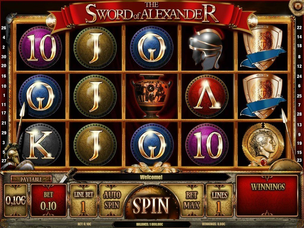 The Sword Of Alexander Slot Review