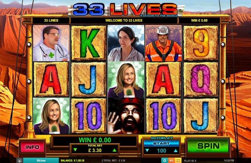 33 Lives Slot Review
