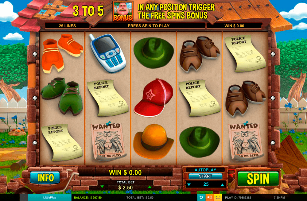 Little Pigs Strike Back Slot Review