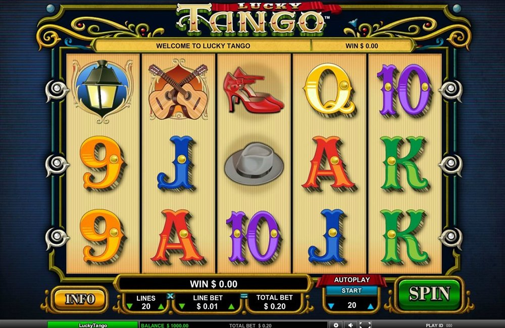 Lucky Tango Slot Review