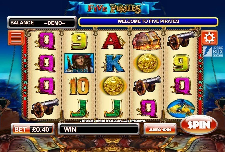 Five Pirates Slot Review