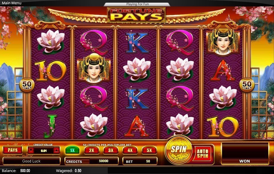 Fortune Pays Slot Review