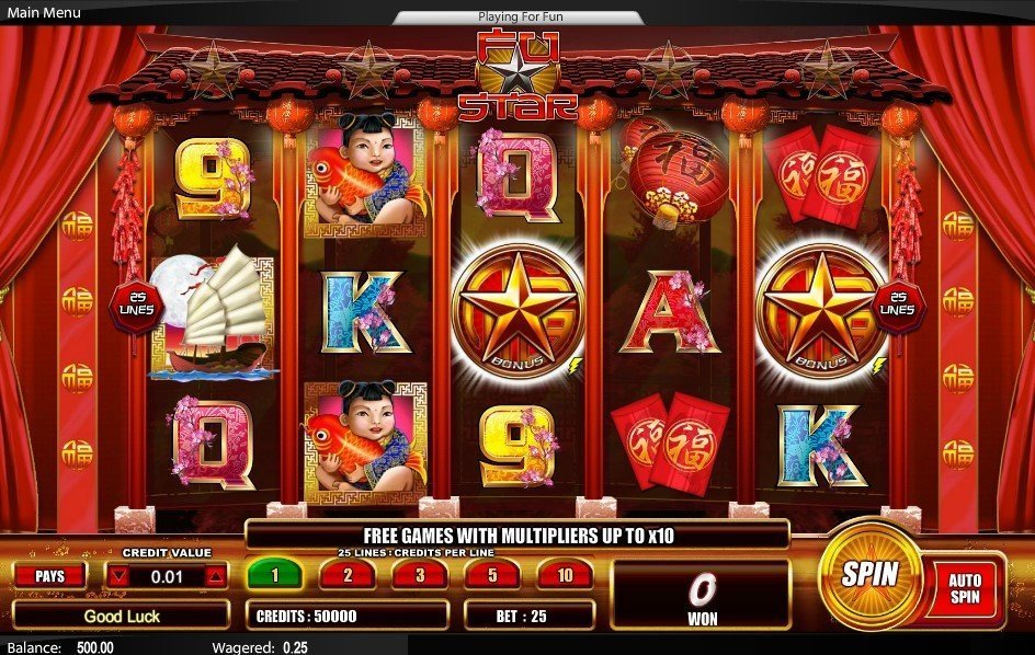 Fu Star Slot Review