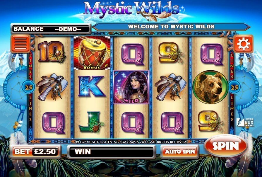 Mystic Wilds Slot Review