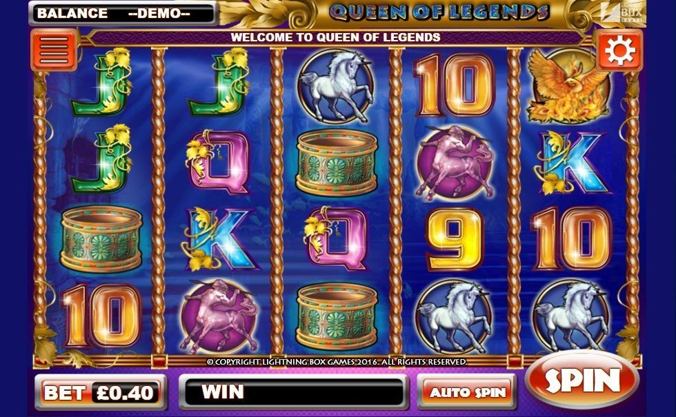 Queen Of Legends Slot Review