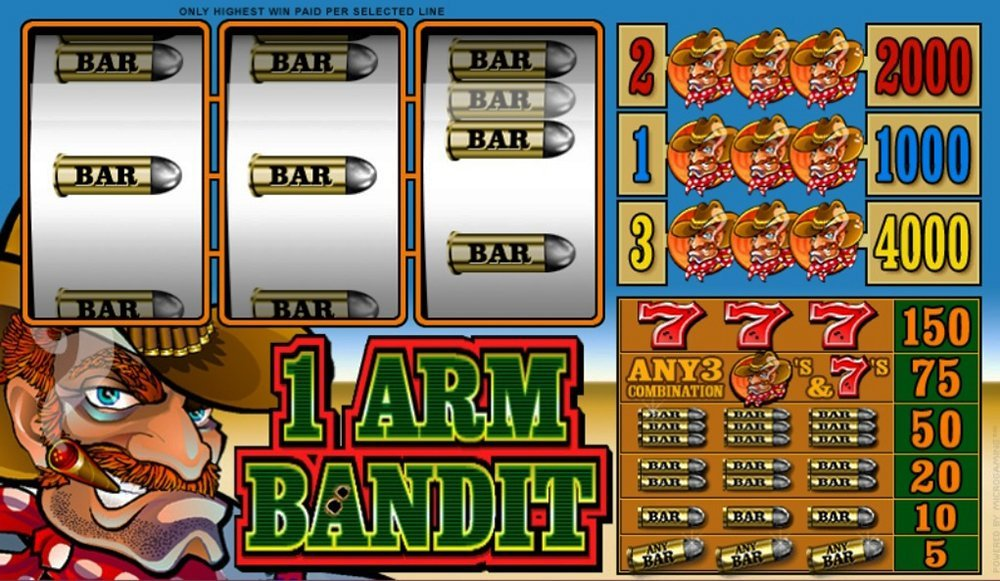 1 Arm Bandit Slot Review