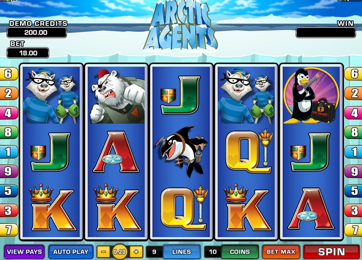Arctic Agents Slot Review