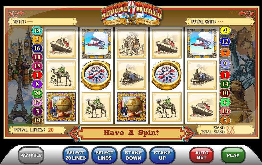 Around The World Slot Review