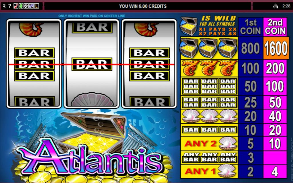 Atlantis Slot Review