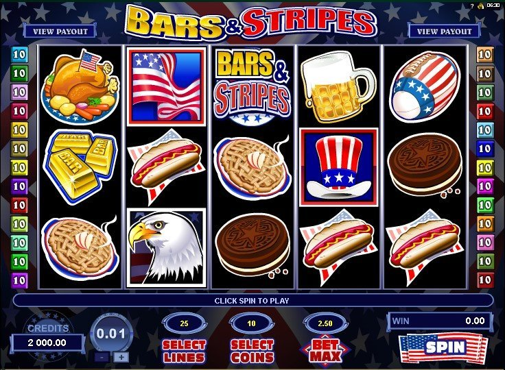 Bars And Stripes Slot Review