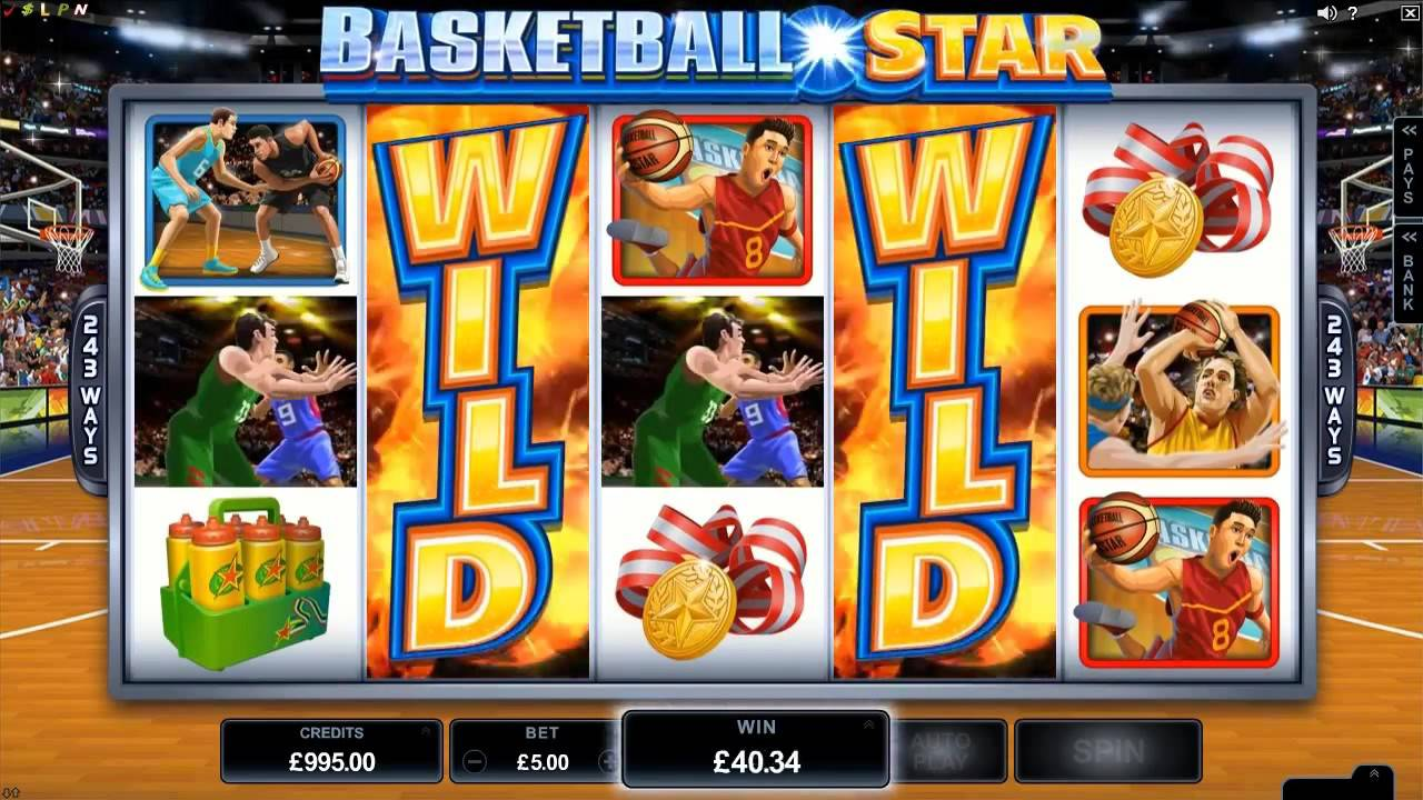 Basketball Star Slot Review
