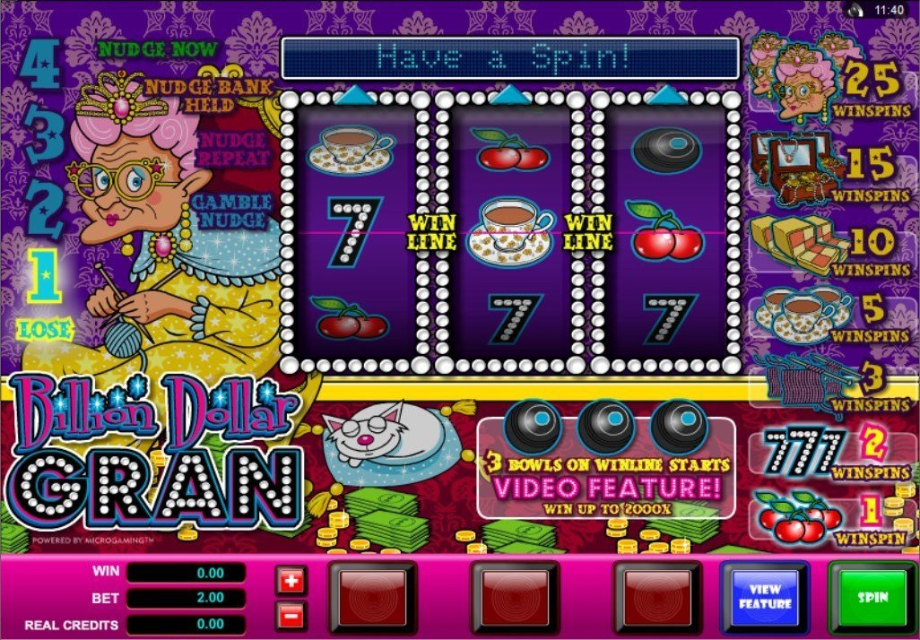 Billion Dollar Gran Slot Review