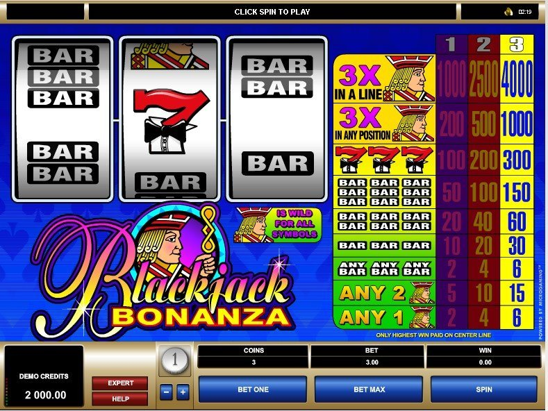 Blackjack Bonanza Slot Review