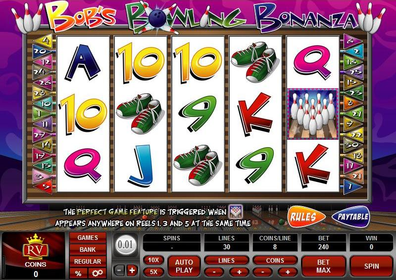Bobs Bowling Bonanza Slot Review
