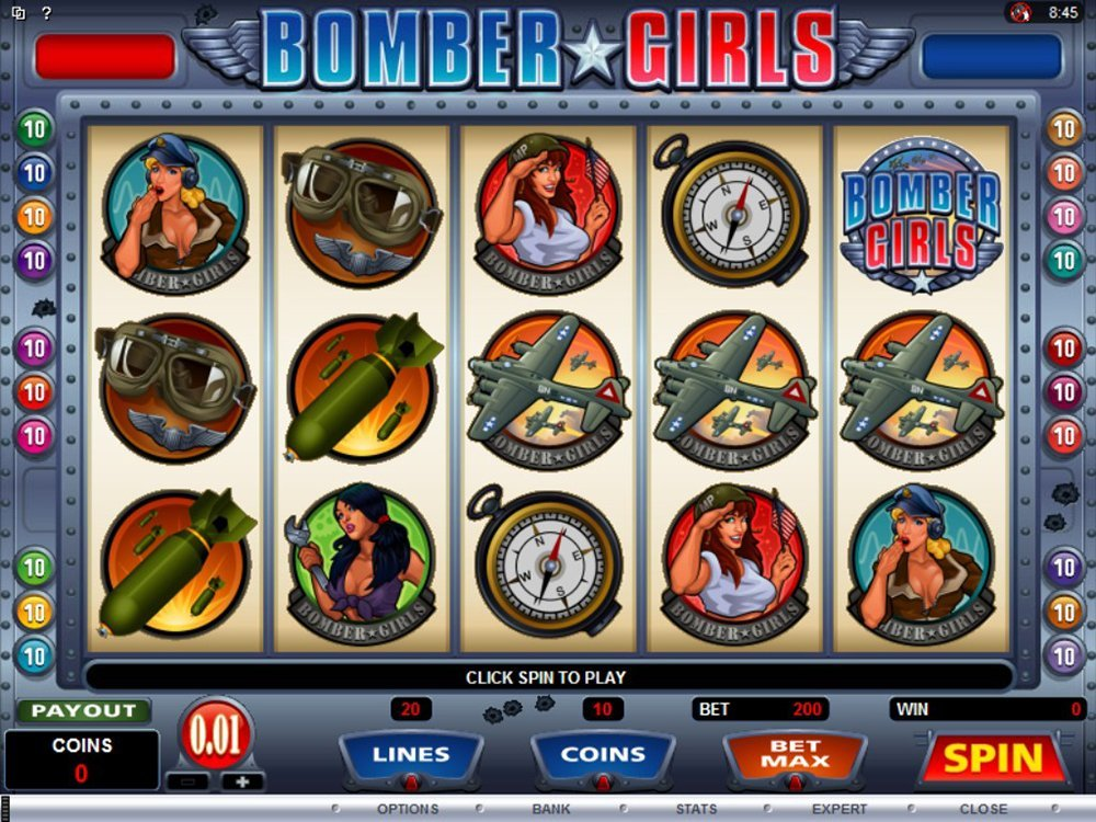 Bomber Girls Slot Review