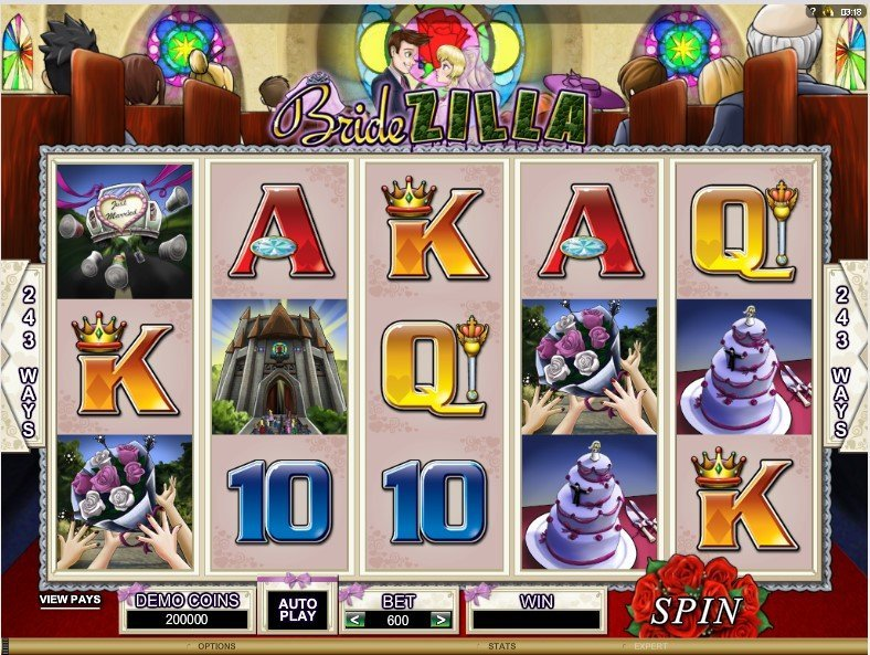 Bridezilla Slot Review