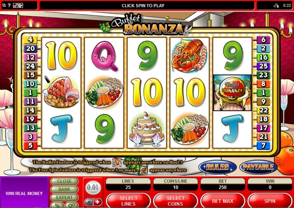 Buffet Bonanza Slot Review