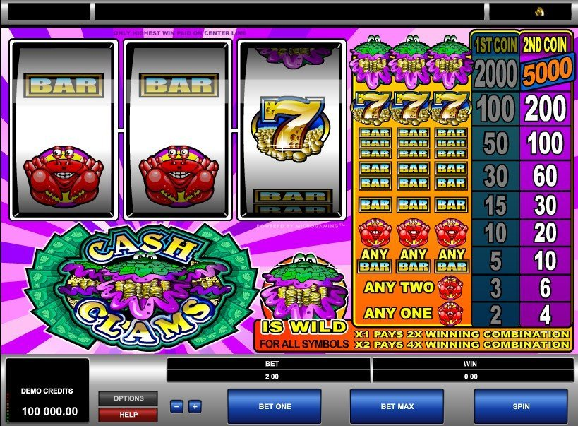 Cash Clams Slot Review