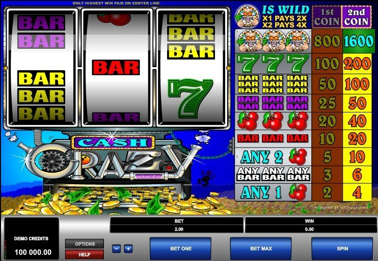 Cash Crazy Slot Review