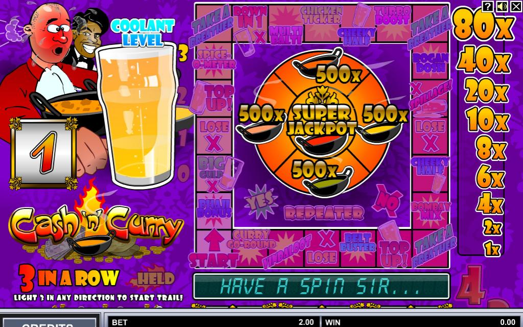 Cash N Curry Slot Review