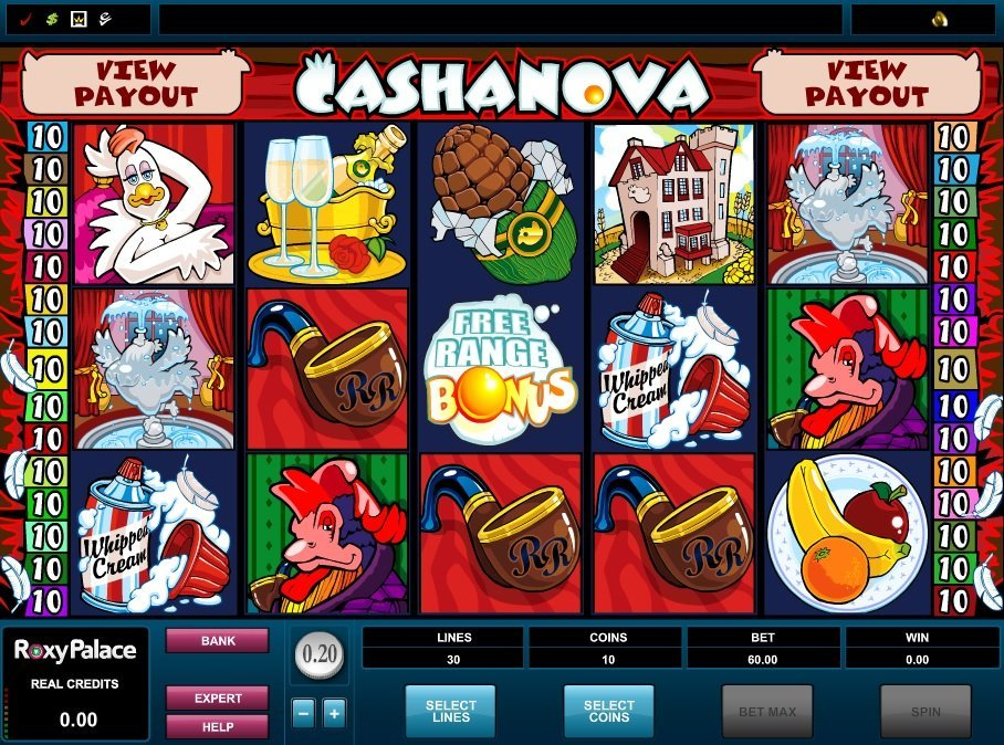 Cashanova Slot Review
