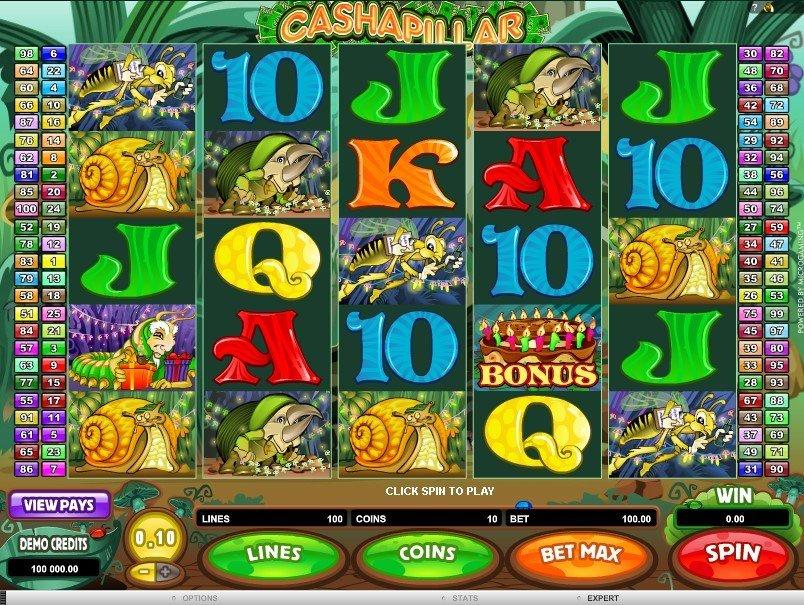 Cashapillar Slot Free Play