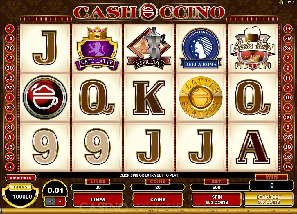 Cashoccino Slot Review
