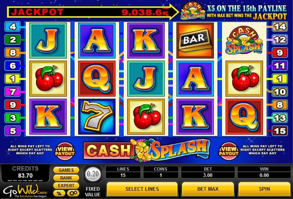 Spiele Cash Splash - Video Slots Online