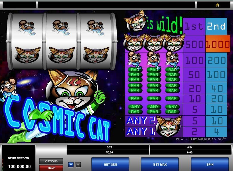 Cosmic Cat Slot Review