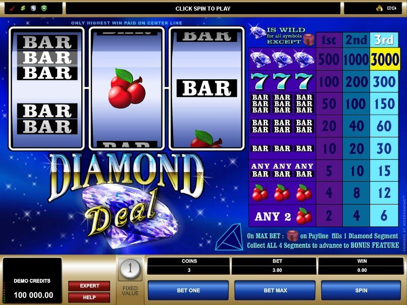 Diamond Deal Slot Review