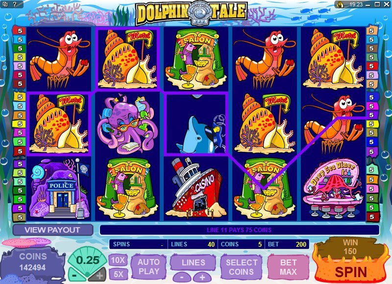 Dolphin Tale Slot Review