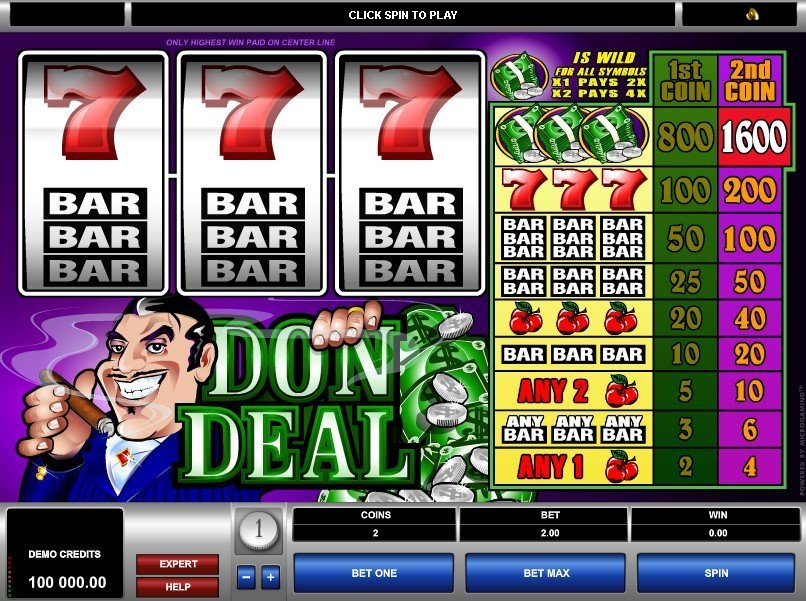 Don Deal Slot Review